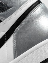 "WOMENS AIR JORDAN 1 ""SILVER TOE"""