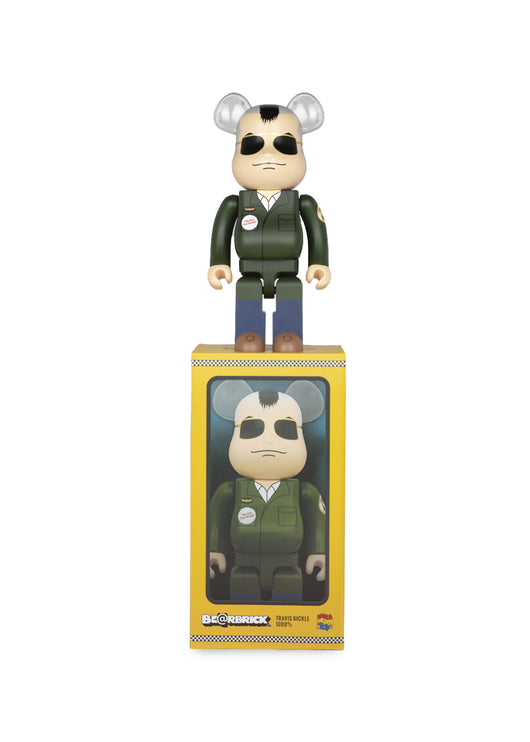 MEDICOM: BEARBRICK 1000% TRAVIS BICKLE [GREEN]