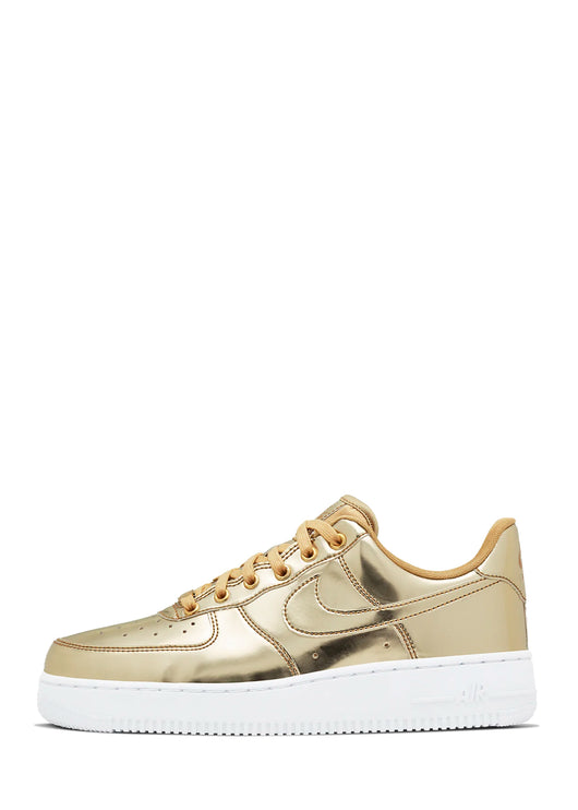 NIKE: WOMENS AIR FORCE 1 SP [GOLD]