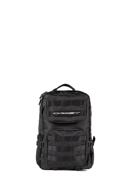 OAKLEY: STRETCH LOGO ORGANIZING BACKPACK [BLACK]