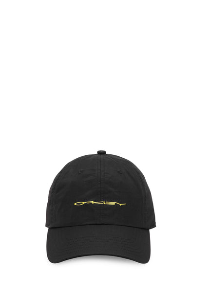 OAKLEY: 6 PANEL RACING HAT [BLACK]