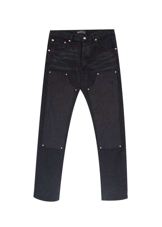 PURPLE: CARPENTER JEANS [BLACK]