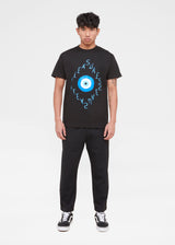 PLEASURES: 3RD EYE SS TEE [BLACK]