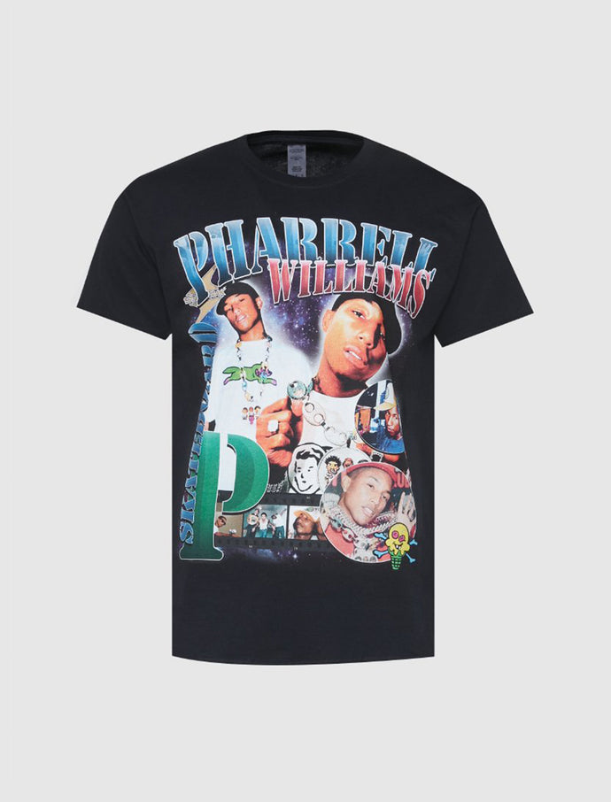 HOMAGE: PHARRELL TEE [BLACK]