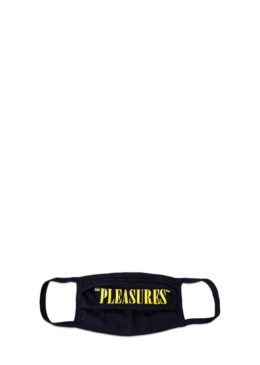 PLEASURES: CORE LOGO MASK [BLACK]
