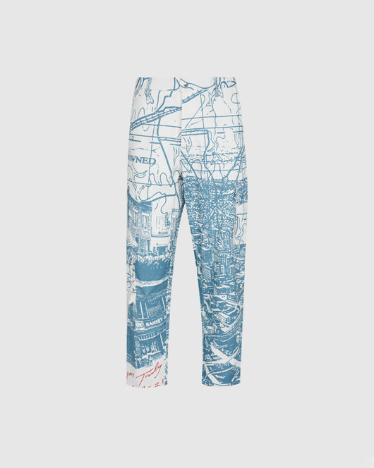 RENOWNED: VIEW FROM HEAVEN CARGO PANTS [CREME]