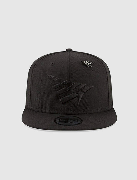 ROC NATION: CROWN SNAPBACK HAT [BLACK]