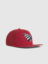 PAPER PLANES: CROWN SNAPBACK [RED] - apb-store