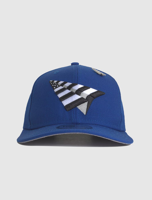 ROC NATION: ROY CROWN SNAPBACK [BLUE]