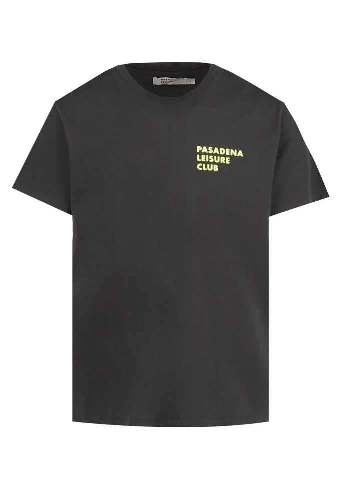 PASADENA LEISURE CLUB: LOGO TEE [BLACK]