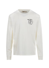 PASADENA LEISURE CLUB: PASADENA SPORTS LS TEE [WHITE]