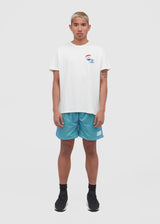 PASADENA LEISURE CLUB: ABOVE THE CROWD TEE [WHITE]