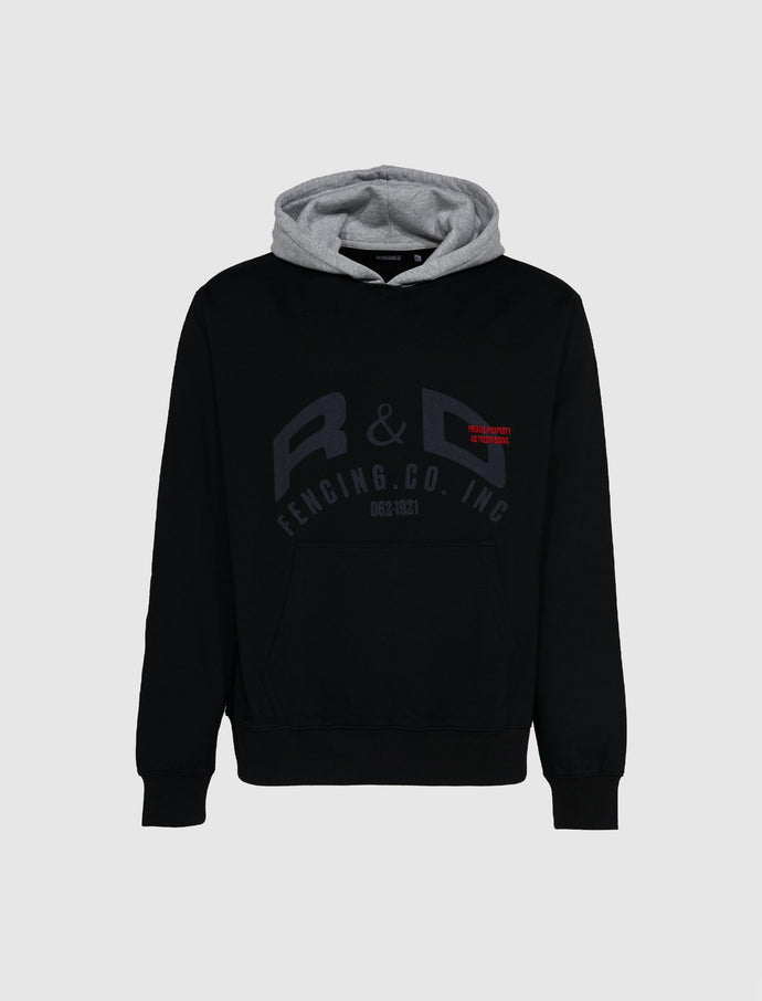 RENOWNED: R&D FENCING HOODIE [BLACK]