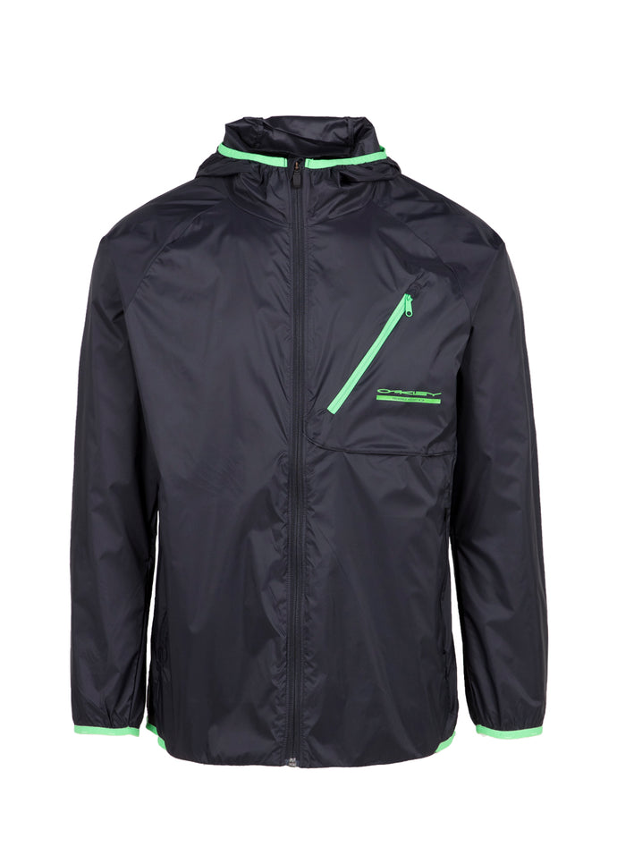 OAKLEY: PACKABLE JACKET [BLACK]