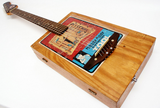 (5) Limited Edition Cigar Box Guitar