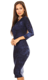 Blue Dream Bodycon Dress