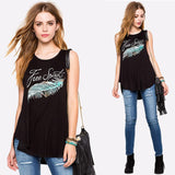 Free Spirit Asymmetrical Tank Top