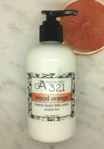 Blood Orange Goats Milk Lotion