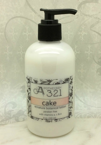 Cake Re:Nature Botanical Vegan Lotion