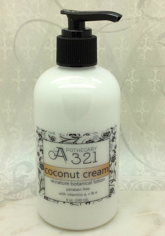Coconut Cream Re:Nature Botanical Vegan Lotion