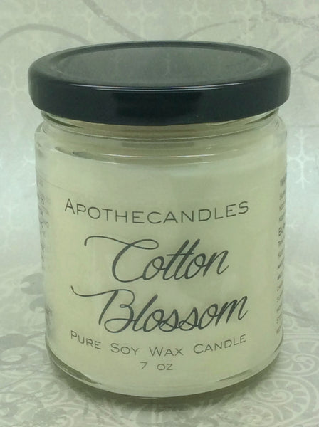Cotton Blossom Pure Soy Wax Candle