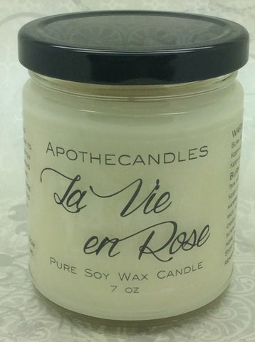 La Vie En Rose Pure Soy Wax Candle
