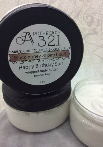 Happy Birthday Suit Whipped Body Butter