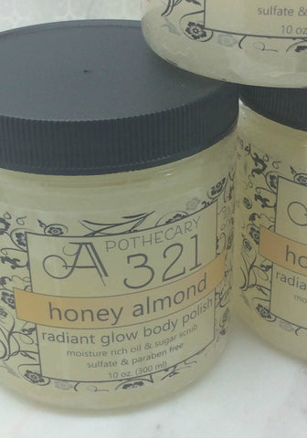 Honey Almond Radiant Glow Body Polish