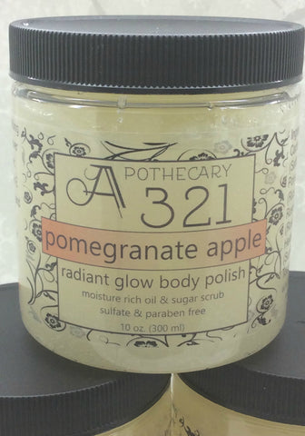 Pomegranate Apple Radiant Glow Body Polish