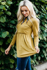 The Matti Top: Chartreuse