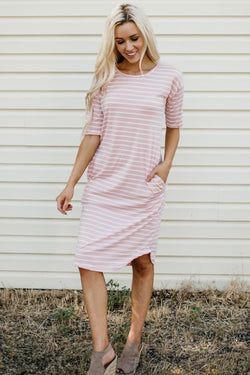 The Mekenna Dress: Rose
