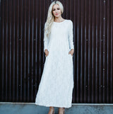 Lace Temple Dress