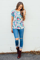 Favorite Floral Tunics: Gray