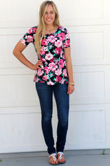 Favorite Floral Tunics: Pink and Black