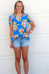 Favorite Floral Tunics: Blue and Yellow