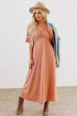 The Charlie Dress: Salmon