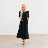 The Charlie Dress: Black