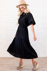 The Lucy Dress: Black