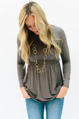 The Matti Top: Gray