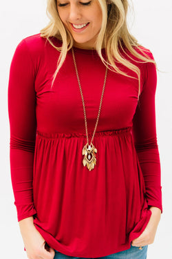 The Matti Top: Red