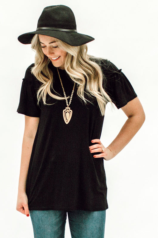The Penelope Top: Black