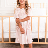 The Scottie House Dress: Pink Dot (GIRLS' SIZES)