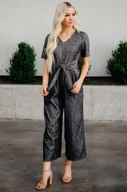 The Rosie Jumpsuit: Black