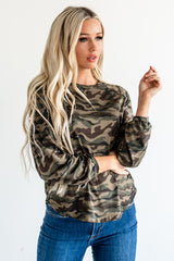 The Chloe Top: Camo