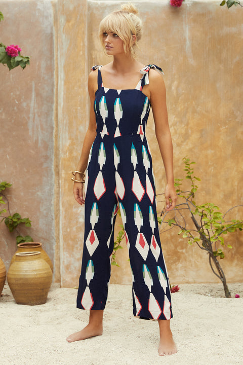 Christina Jumpsuit In Night Sky