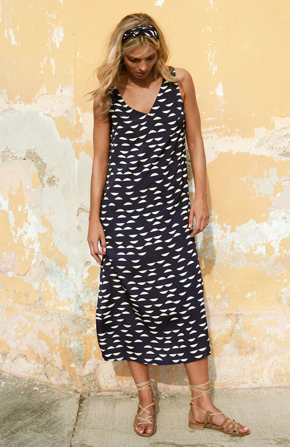 Sienna Dress In Palm Beach