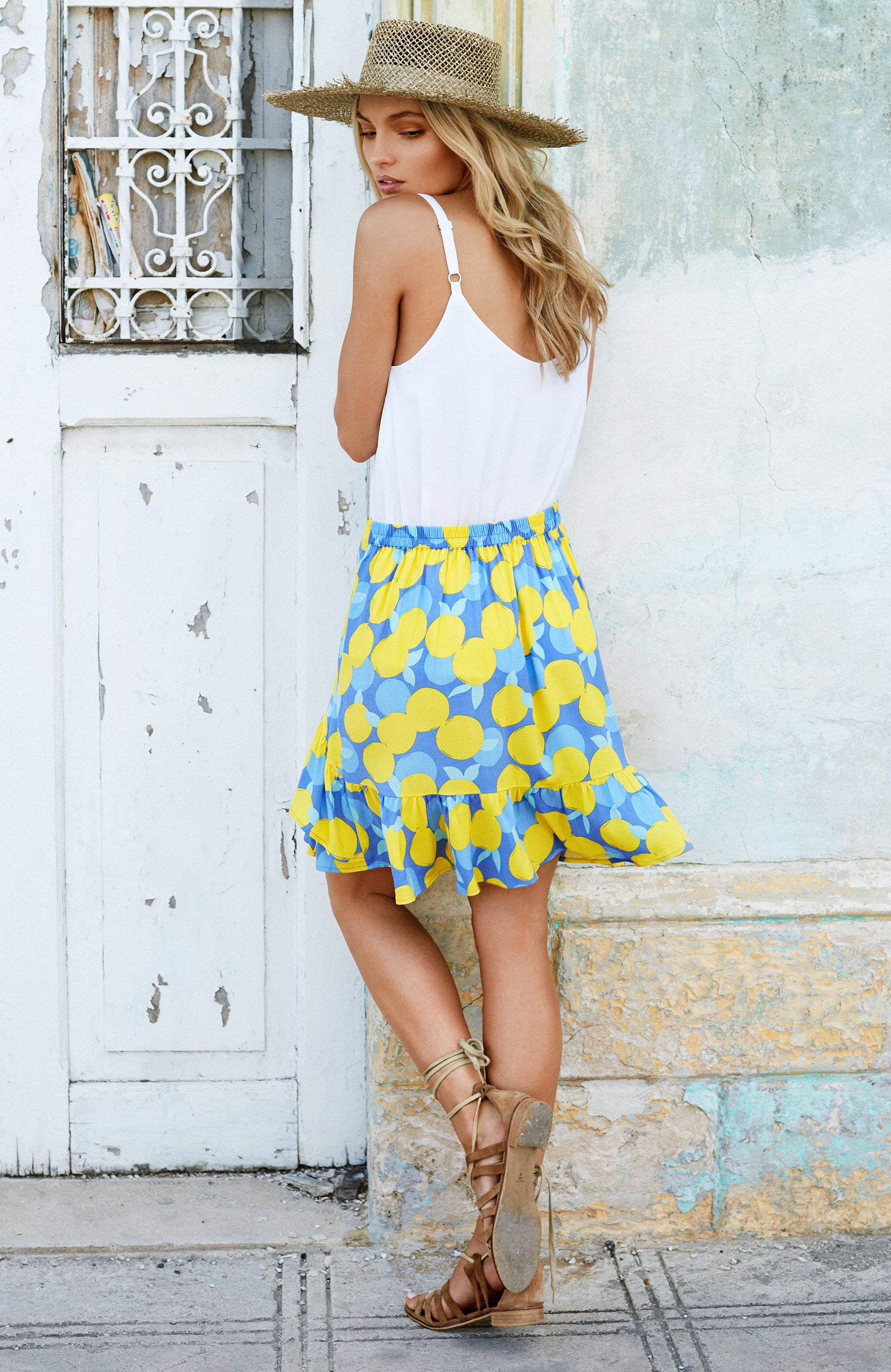 Kitty Skirt In Citrine