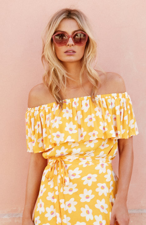 Twiggy Top In Daisy