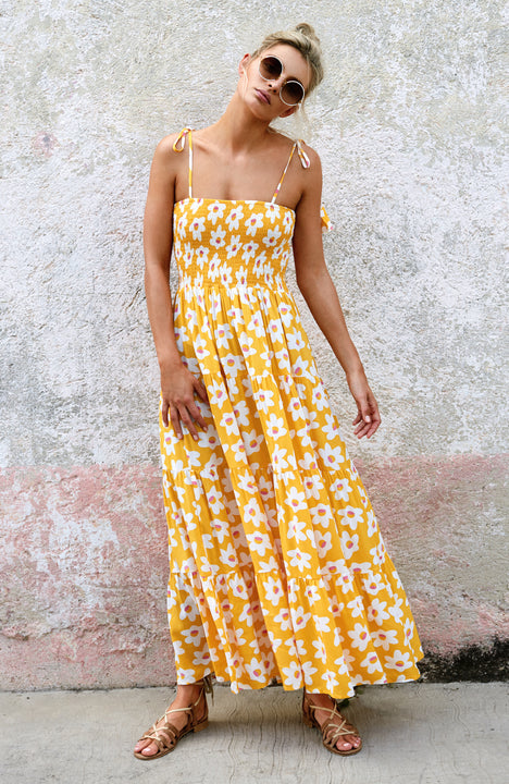 Fifi Maxi Dress In Daisy