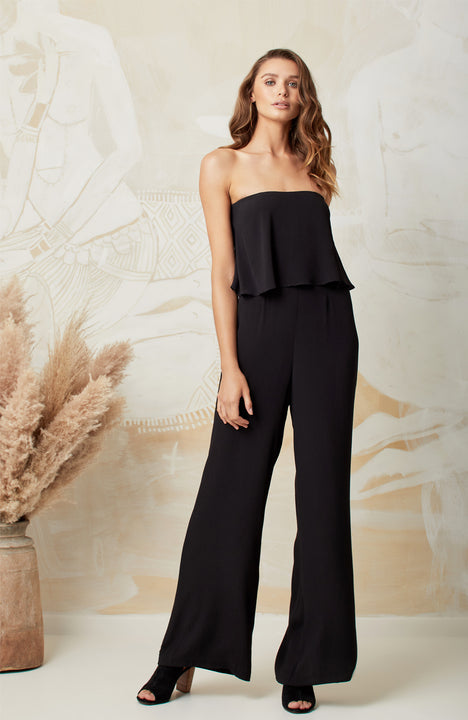 BLACK ARLO JUMPSUIT